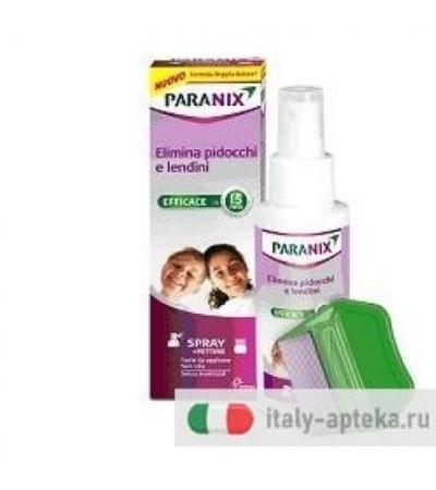 Paranix Spray Antipediculosi+Pettine