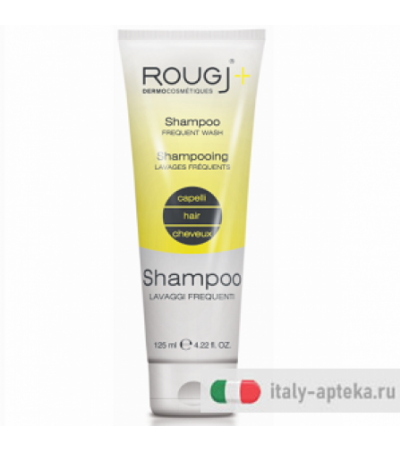 Rougj Shampoo Lavaggi Frequenti 125ml