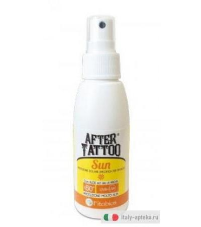 After Tattoo Sun Protezione solare SPF50+ specifica per tatuaggi 75ml