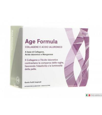 Age Formula collagene e acido ialuronico gusto frutti tropicali 240 ml