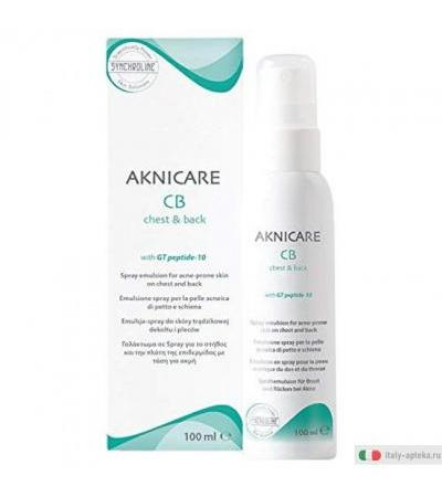AKNICARE CB Chest & Back emulsione spray per acne 100 ml