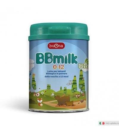 BB Milk Latte Biologico Polvere 0-12 mesi 750g