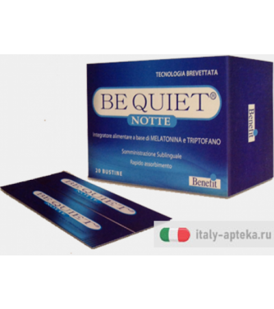 Be Quiet Notte 20 bustine integratore alimentare