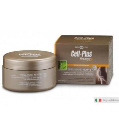 Bios line Cell-Plus snellente notte inestetismi della cellulite 300ml