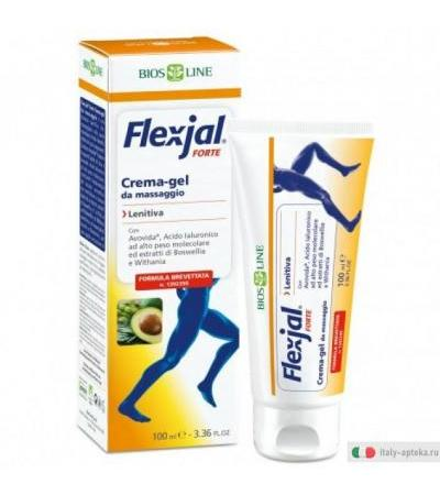 Bios line Flex-jal Forte Crema-gel da massaggio lenitiva 100ml