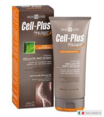 BiosLine Cell-Plus Crema Cellulite Anti-Acqua 200ml