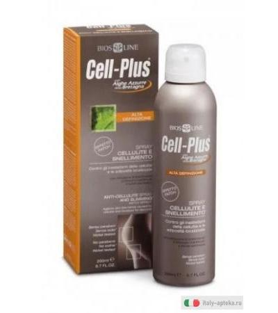 BiosLine Cell-Plus Spray Cellulite e Snellimento 200ml