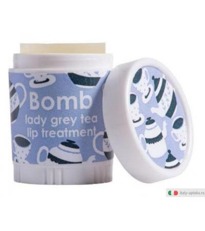 Bomb Cosmetics Balsamo Labbra Lady Grey Tea