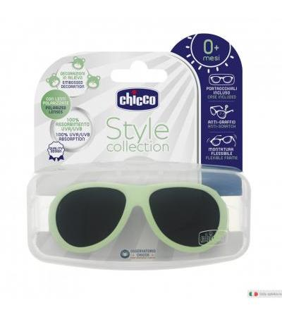 Chicco Occhiale da Sole Polar Verde style collection 0+ mesi