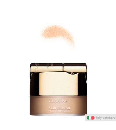Clarins Skin Illusion Fondotinta in polvere minerale n.110 honey