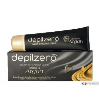 Depilzero crema depilatoria corpo all'Olio di Argan 150ml