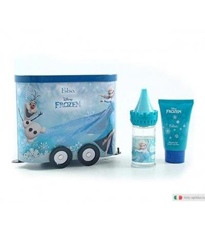 Disney Frozen Elsa Wagon Set in latta spray 50ml + shower gel 50ml