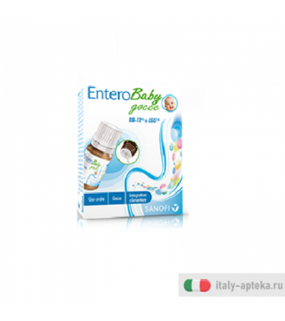 EnteroBaby Gocce integratore alimentare 8ml