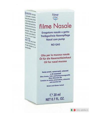Filme Nasale no gas olio per la mucosa nasale 20 ml
