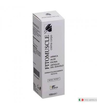 Fitomuscle Crema Corpo 100ml
