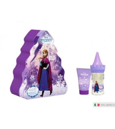 Frozen Anna Gift Set in latta spray 50ml + shower gel 50ml