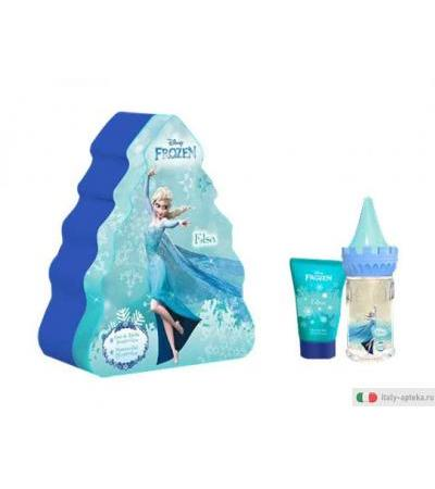 Frozen Elsa Gift Set in latta spray 50ml + shower gel 50ml