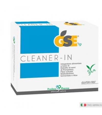 GSE Cleaner-IN integratore per l'intestino 14 bustine monodose