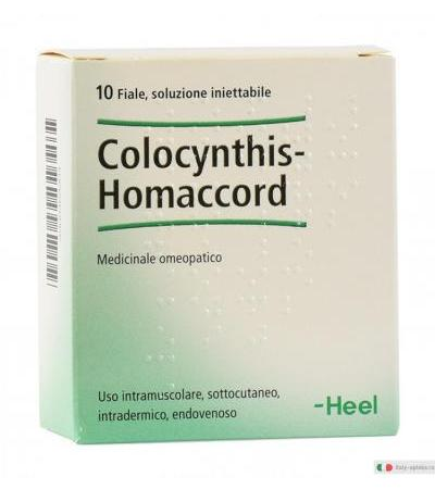 Guna Heel Colocynthis Homaccord medicinale omeopatico 10 fiale