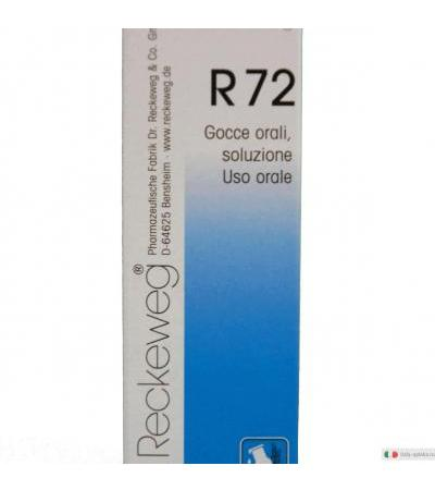 Imo Reckeweg R72 medicinale omeopatico gocce 22ml