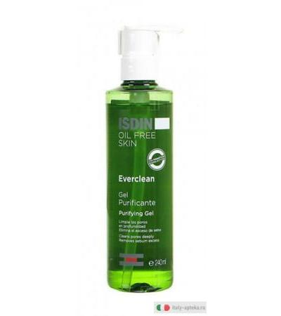 ISDIN OIL FREE SKIN Everclean gel purificante 240 ml