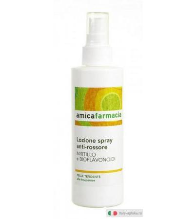 Lozione spray anti-rossore Mirtillo e Bioflavonoidi 200ml