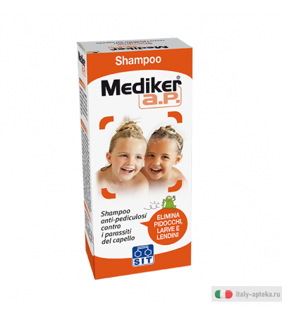 Mediker Shampoo Anti-pediculosi 100ml