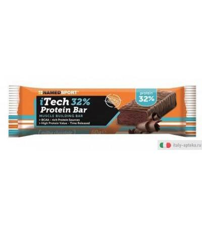 Named iTech 32% Protein Bar cioccolato al latte 60g
