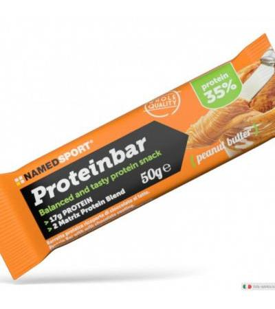 Named Protein Bar burro di arachidi 50g