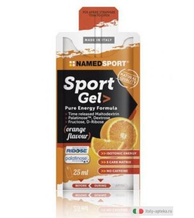 Named Sport Gel Energetico Gusto Arancia 25ml