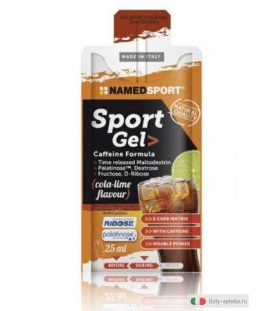 Named Sport Gel Energetico Gusto Cola Lime 25ml
