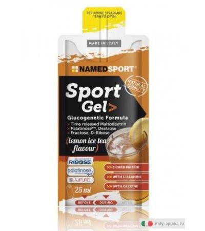 Named Sport Gel Energetico Gusto Lemon Ice Tea 25ml