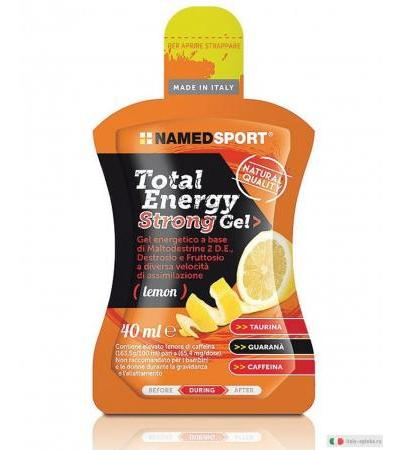 Named Total Energy Strong Gel Gusto Limone 40ml