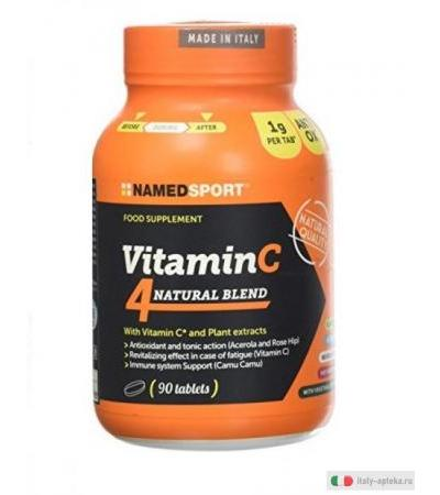 Named VitaminC 4 Natural Blend 90 compresse