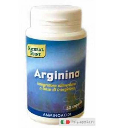 Natural Point Arginina 50 capsule