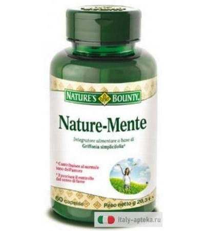 Nature's Bounty Nature-Mente integratore 60 capsule