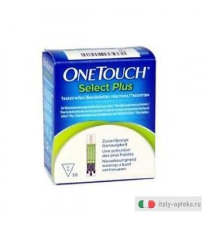 One Touch Select Plus 25 Strisce Reattive