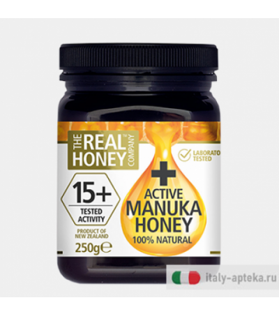 Optima Real Honey Active 15+ 100% Miele di Manuka 250gr