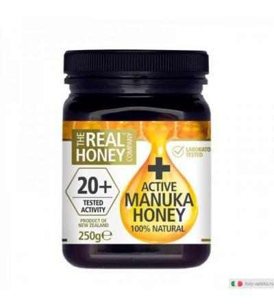 Optima Real Honey Active 20+ 100% Miele di Manuka 250gr