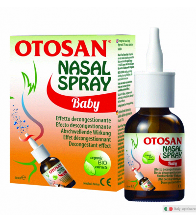 Otosan Nasal Spray baby effetto decongestionante 30ml