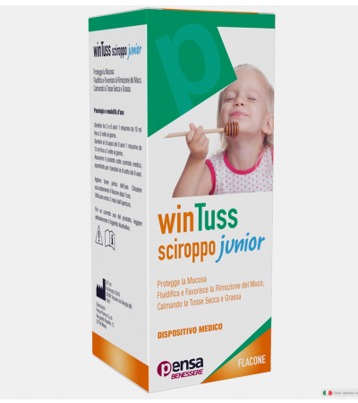 Pensa WinTuss Sciroppo Junior 170ml