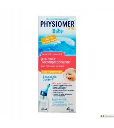 Physiomer Baby Iper spray nasale decongestionante 115ml