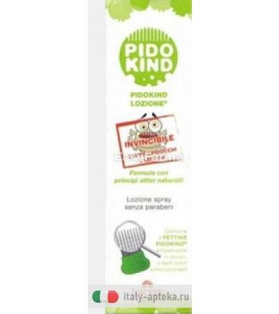 Pidokind Lozione Spray Antipediculosi + Pettine