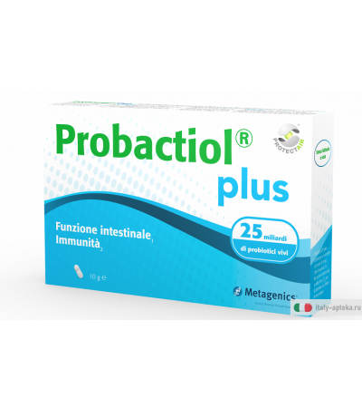 Probactiol Plus 15 capsule funzione intestinale