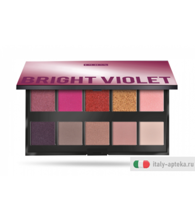 Pupa Make Up Stories palette 10 ombretti n.03 Bright Violet