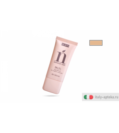 Pupa Natural Side BB Cream crema idratante colorata Nude n.001 30ml