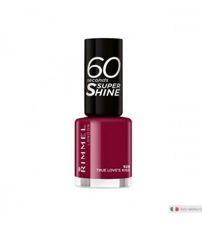 Rimmel 60 Seconds Super Shine smalto colore 928 True Love's Kiss