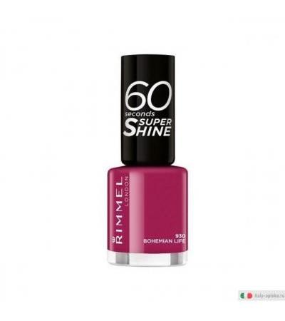 Rimmel 60 Seconds Super Shine smalto colore 930 Bohemian Life