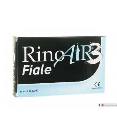 RinoAir 3 Fiale decongestione nasale 10 fiale da 5 ml