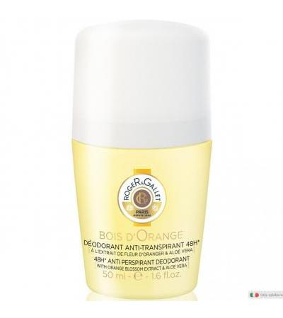 Roger&Gallet Bois d'Orange Deodorante anti-traspirante 48h roll-on 50ml